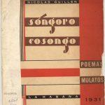 Sóngoro Cosongo. Edición 1931